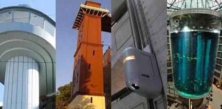 Ascenseur insolite